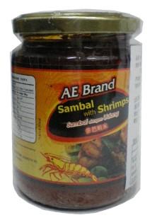 包裝:220*24  成份: 蝦米  大豆油  蔥  辣椒  蒜  糖  鹽  苯甲酸鈉(防腐劑)  產地:馬來西亞